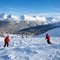 Les meilleures destinations ski au Canada