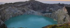 Indonésie - Flores - Kelimutu volcanic lake