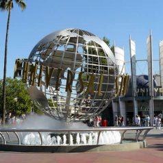 Les studios Universal Hollywood lors d'un voyage aux USA