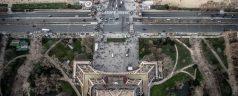 Paris vu du haut de la Tour Eiffel
