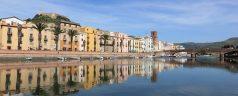 Village de Bosa en Sardaigne