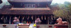 Les temples et pagodes attirent les touristes à la fin d'année