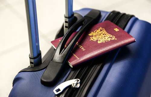 passeport et bagage